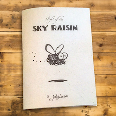 Flight of the Sky Raisin zine